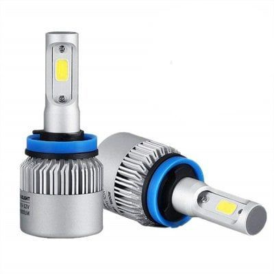 72w 8000lm Cob Led Car Headlight Fog Lamps Bulb Sale Price Reviews Gearbest Mobile Led Deco Voiture Phare Voiture
