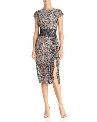 Bronx And Banco Mixed Lace Dress Women Bloomingdale S Stylish Dresses Womens Dresses Lace Dress