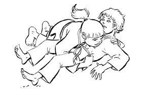 Judo Coa Examen Para Ninos Combate Cuerpo A Cuerpo Ninos Dibujos