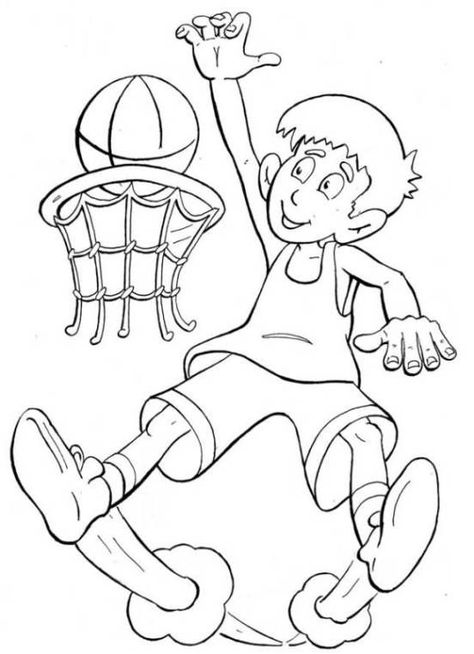 basketball malvorlagen basketball ausmalbilder malvorlagen