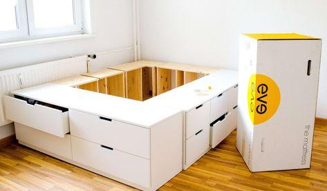 Ausklappbares Bett Ikea Luxus Einfaches Bett Selber Bauen Genial