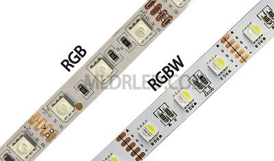 China Led Lights Manufacturer The Difference Between Rgb And Rgbw Led Led Strip Lighting Rgbw Led Strip Strip Lighting