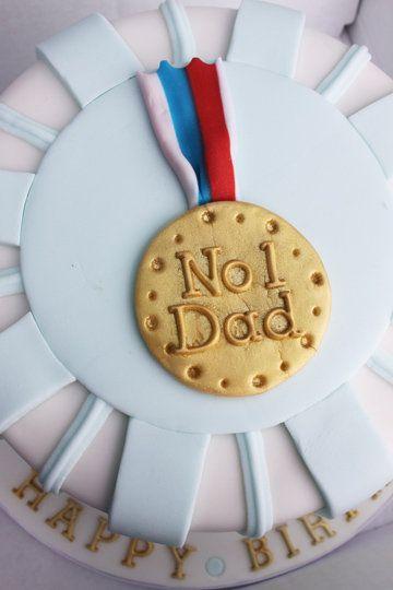 No1 Dad Birthday Cake
