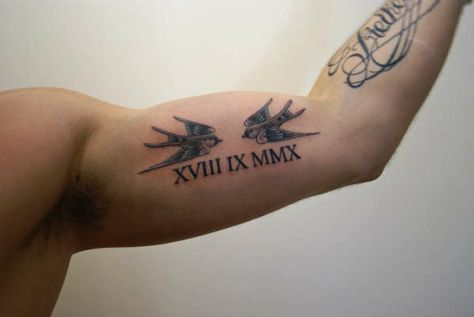 What are roman numeral tattoos? Here are 25 of the hottest Roman Numeral Tattoo Designs to check out!
