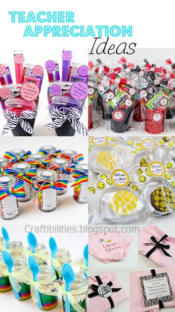 So, I don't have kids, but too many of my clubs/organizations have opportunities to make favors/gifts and these Teacher Appreciation Ideas are all easy, adorable and customizable for non-teacher recipients!  Great ideas here!