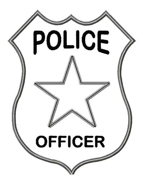Police Badge Coloring Page . 30 Unique Police Badge Coloring Page . Awesome Coloring Pages with Names Police Officer Crafts, Police Officer Badge, Police Crafts, Police Badges, Police Activities, Preschool Activities, Space Activities, Kids Police, Police Police