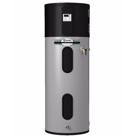 A O Smith Signature Premier 50 Gallon Tall 10 Year Limited 4500 Watt Double Element Electric Water Heater With Hy Electric Water Heater Water Heater Heat Pump