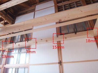 ロフトの長い柱は取り付けたものの 壁までの距離が常軌を逸していた件
