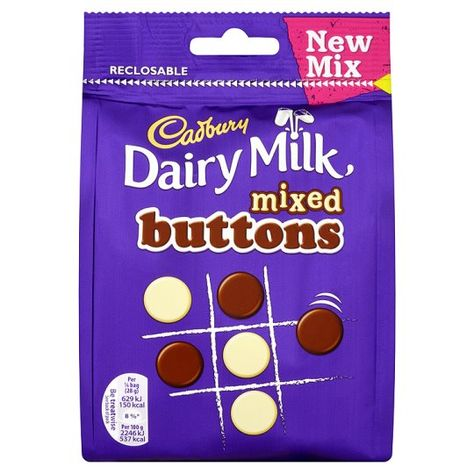 Cadbury Dairy Milk Buttons Mix 115g Foods To Try