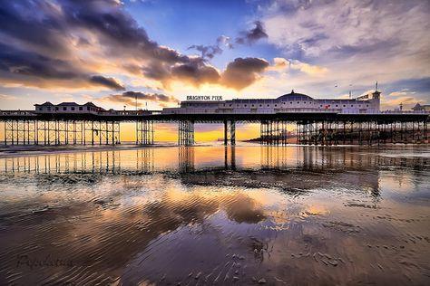 Brighton Pier ... Brighton, East Sussex England