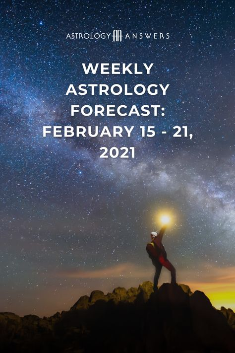 We are approaching the second half of February 2021 astrology, bringing us into Pisces season, and Mercury moving direct in Aquarius. What else do the stars have in store for you this week? ✨ #astrology #weeklyforecast #weeklyastrology