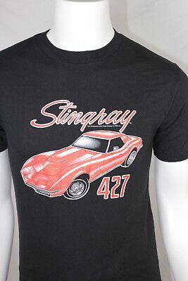 Mens Chevy Corvette Stingray Retro Red Sweatshirt