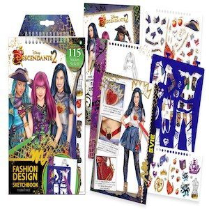 Kids Fashion Design Kit Includes Light Table Stencils Make It Real Disney Descendants 2 Fashion Design Tracing Light Table Stickers Disney Sketchbook Design Guide And More Ncig Com