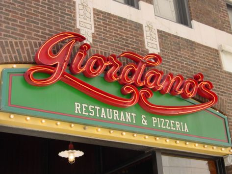 Giordano's Pizza on Rush Street in Chicago.  Best pizza anywhere.  And yes, I've had the pizza's at John's in New York and it's no comparison.