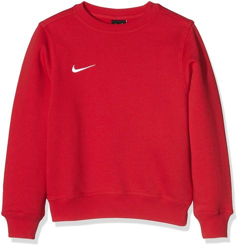 7d4eb68d89f54 Nike Pull à manches longues pour Enfant Mixte - Rouge (University  Red/Football White) - XS (122-128 cm): Amazon.fr: Sports et Loisirs