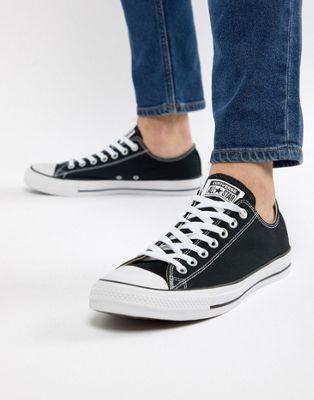 Converse All Star ox plimsolls in black m9166c | Converse