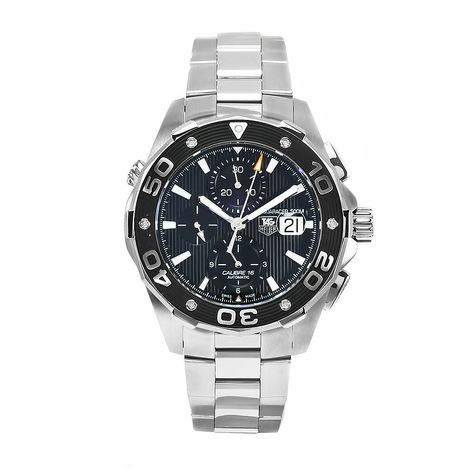 TAG Heuer Men's CAJ2110BA0872 Aquaracer Chronograph Watch