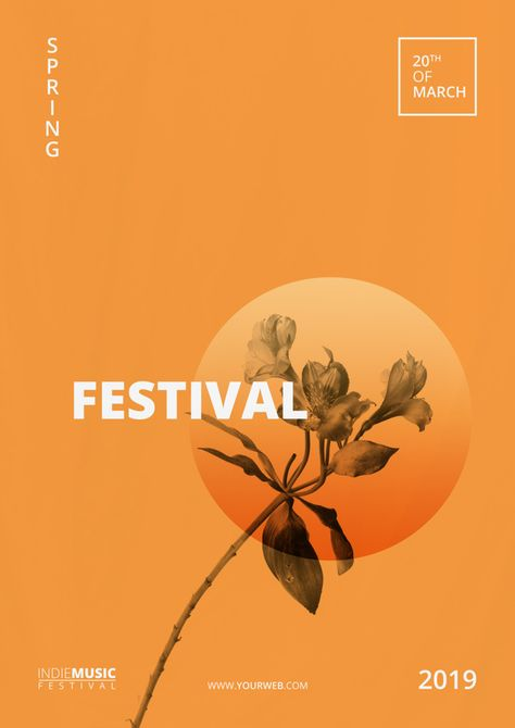 Download Spring Festival Poster Template for free