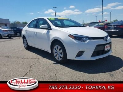 Toyota Dealers In Kansas >> Used 2016 Toyota Corolla Le Lewis Sale Price 14 386 Lewis