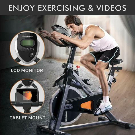 Details About Yosuda Exercise Bike Stationary Bicycle Indoor