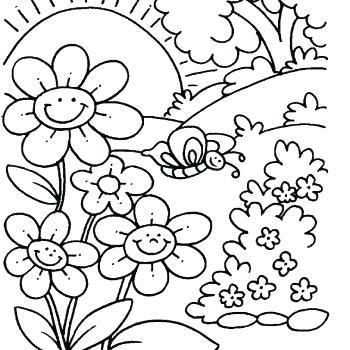 Happy Spring Coloring Pages Spring Coloring Pages Spring Coloring Sheets Coloring Pages