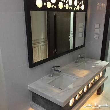 مغاسل رخام ومغاسل ديكور In 2020 Framed Bathroom Mirror Bathroom Mirror Home Decor