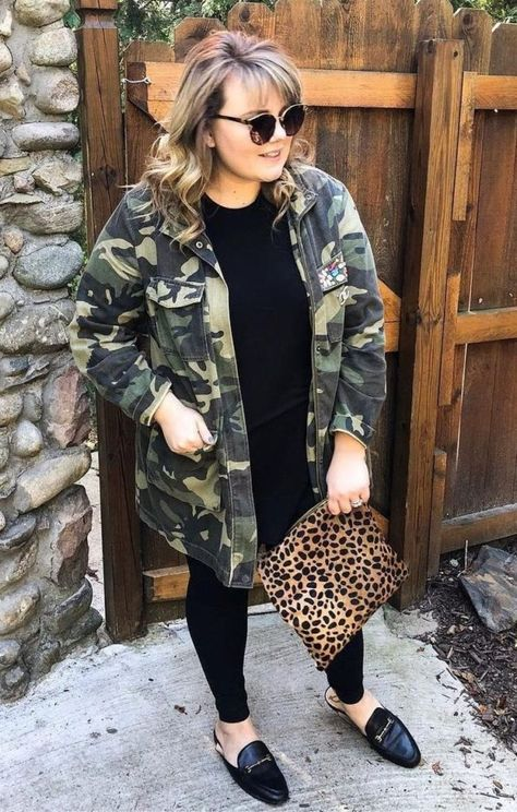 71 Pretty Fall Outfit Ideas for Women Size Plus