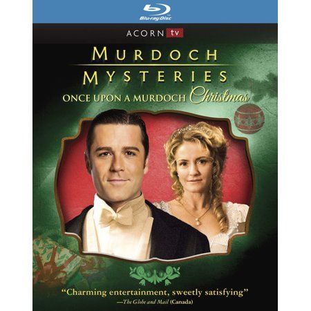 Murdoch Mysteries Christmas Special 2021 Murdoch Mysteries Once Upon A Murdoch Christmas Blu Ray Walmart Com In 2021 Murdoch Mysteries Christmas Dvd Mystery