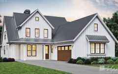 Southern Farmhouse Plans With Wrap Around Porch With Tin Roof Farmhouse Vintage Rentals In 2020 Craftsman House Plans Farmhouse Exterior Colors Farmhouse Exterior
