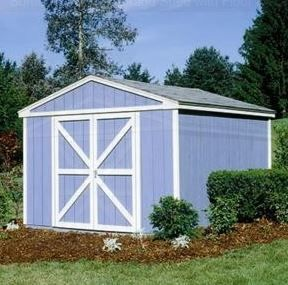 Somerset Wood Storage Shed with Floor Kit | Utility Storage