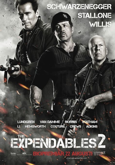 The Expendables 2 (2012) 103 min - Action   Adventure   Thriller