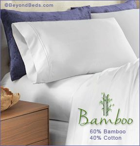 Premium Bamboo And Cotton Sheet Sets 400tc By Purecare Cotton