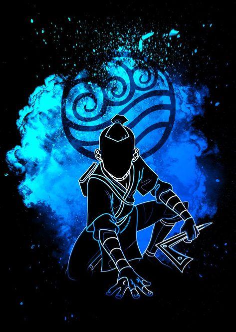 Handmade Home, Soul Musik, Geometric Tattoo Arm, Avatar The Last Airbender Art, Team Avatar, Full Sleeve Tattoos, Print Artist, Black And Grey Tattoos, Metal Wall Art