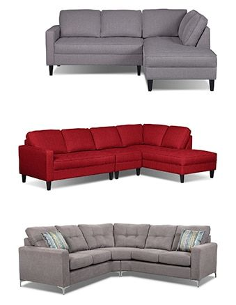 Sectionals The Brick Sectional Sofa Sectional Sofa Couch Couch And Loveseat