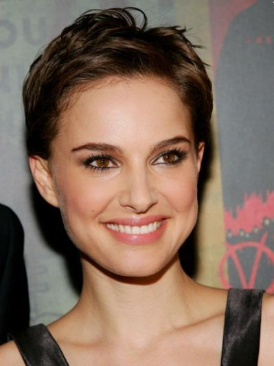 Pixie Haircut No Bangs Good Hair Natalie Portman Short Hair