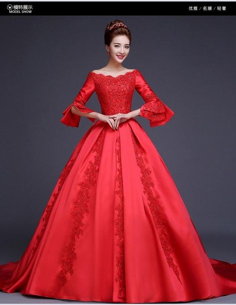 100%real red beading court trailing princess medieval dress Renaissance  Gown queen Victoria Antoinette ball gown Belle Ball 7c5432db7d1b