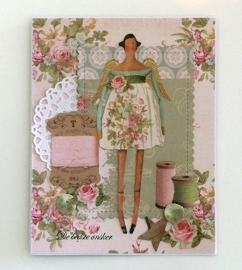 Открытка цветы, открытки с куклой тильда