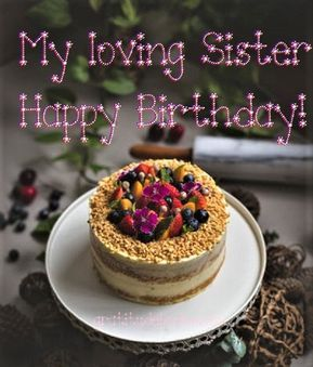 Outstanding Welcome November Happy Birthday Happy Birthday Sister Cake Personalised Birthday Cards Paralily Jamesorg