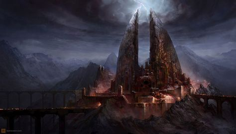 Agandaur Fortress - Characters \ Art - The Lord of the Rings War - küchenlösungen für kleine küchen