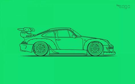 Porsche 911 Carrera by RWB