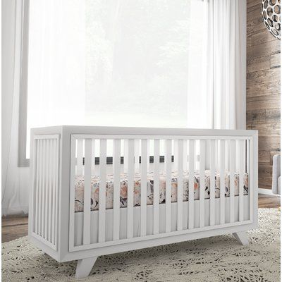 Karla Dubois Wooster 3 In 1 Convertible Crib Color Pure White