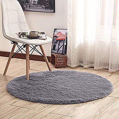 Amazon Com Noahas 4 Feet Luxury Round Area Rugs Super Soft Living