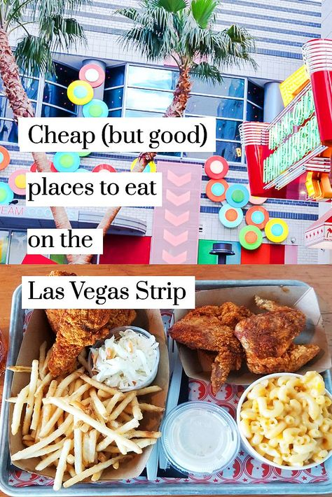 Cheap Places to Eat in Las Vegas on a Budget (That's Actually Good