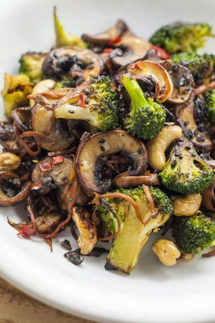 Broccoli And Mushroom Stir Fry Recipes Healthy Food Lowcarb Stir Fry Recipes Healthy Vegetable Recipes Best Vegetable Recipes