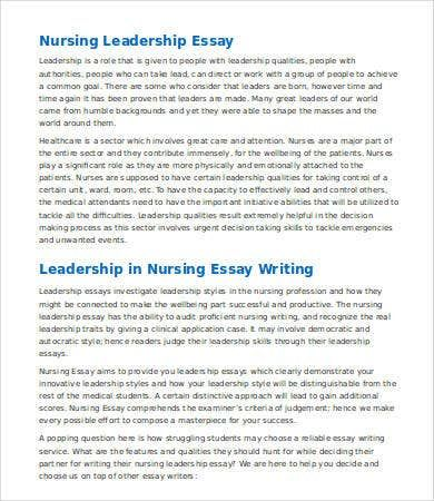 Leadership Essay 7 Free Samples Examples Format Download In 2021 Essay Essay Help Essay Writing