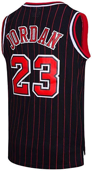 NSEHIK Mens #23 Jerseys Basketball Jerseys Retro Jersey Red S-XXL
