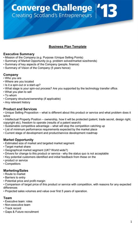 10 Executive Summary Templates Word Excel Pdf Templates