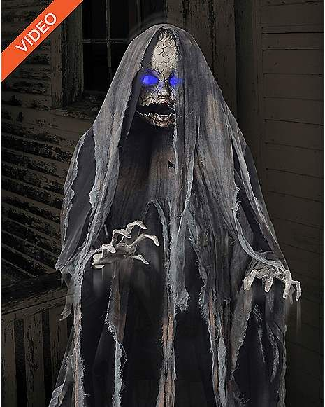 Spirit Halloween Props 2020 5 Ft Creepy Rising Doll | Halloween animatronics, Halloween props