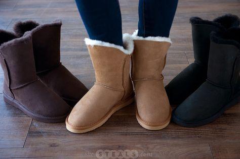 Dije California Liberty Sheepskin Boots   Sheepskin boots