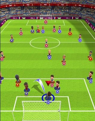 World Soccer King Is A Free Android Sport Strategy Mobile Multiplayer Football Game Featuring An Elegantly Simple Controls Soccer Football Games Football